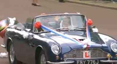Royal Wedding: protagonista anche una Aston Martin DB6 MkII