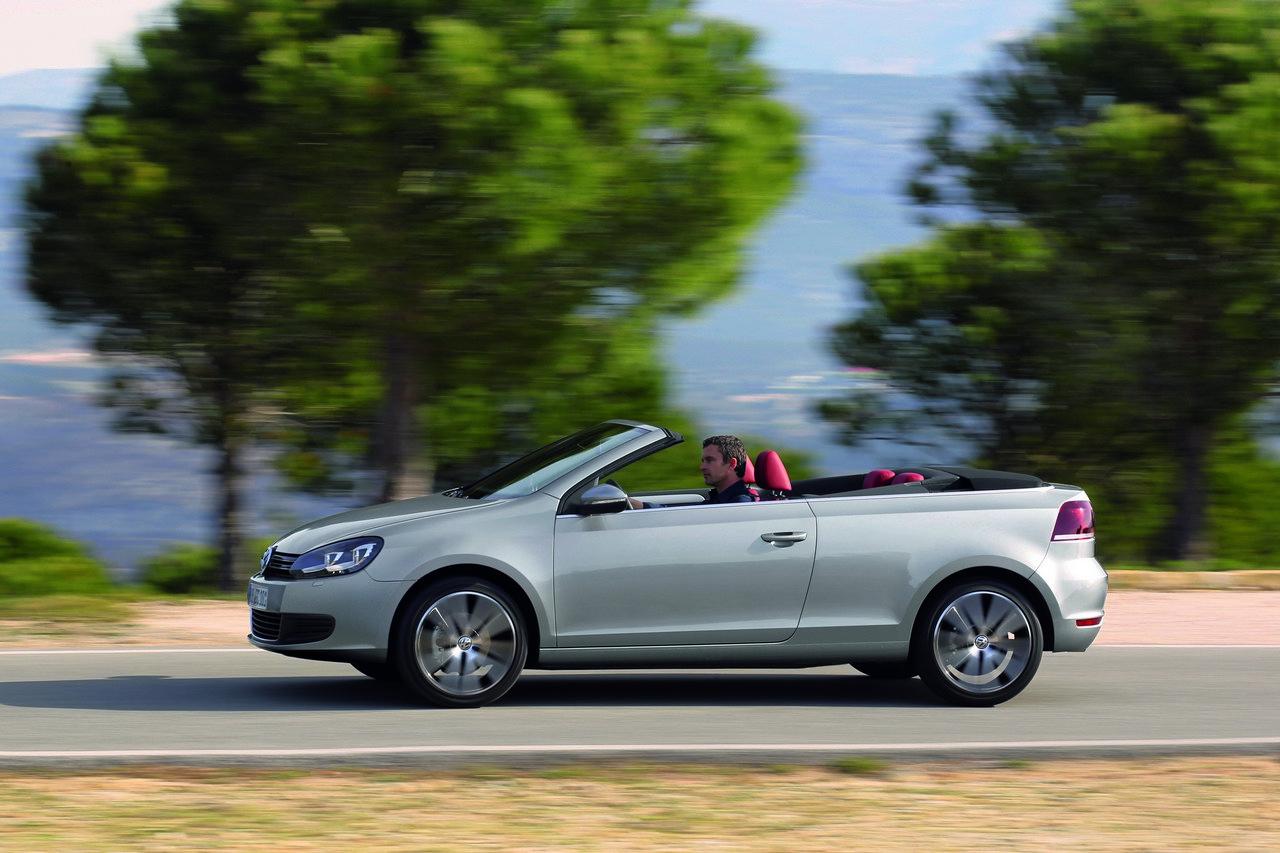Nuova Golf Cabriolet: immagini, caratteristiche e prezzi