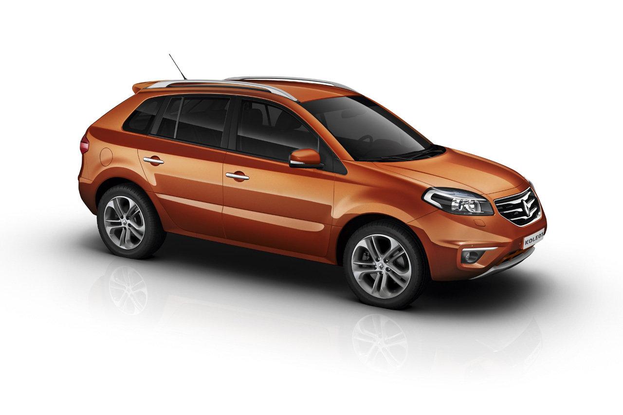 Nuova Koleos: le immagini del crossover Renault