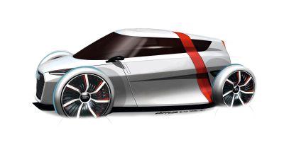Audi urban concept: innovativo studio di veicolo urbano con 1+1 posti