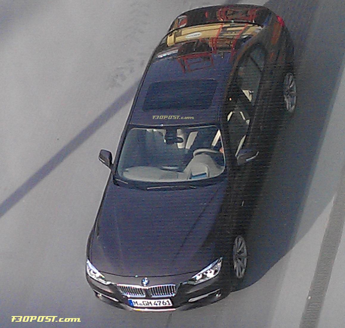 BMW Serie 3 2012 (F30): le immagini senza camuffature