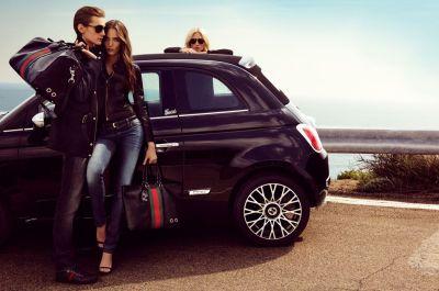 Fiat 500 C by Gucci ecco la versione en plein air 003