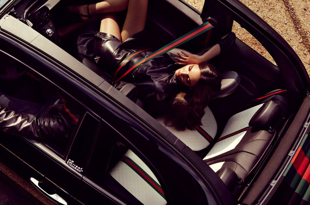 Fiat 500 C by Gucci: ecco la versione en plein air