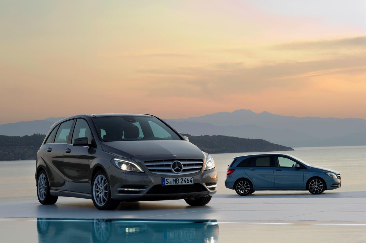 Nuova Classe B: tutte le immagini della sports tourer compatta Mercedes