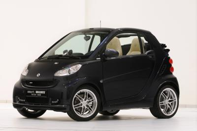Piccola, sportiva. Smart Brabus