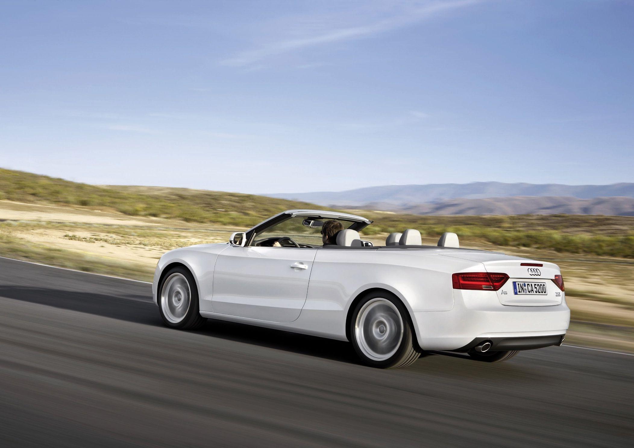 Audi A5 Sportback, Coupé e Cabriolet: nuova gamma 2012