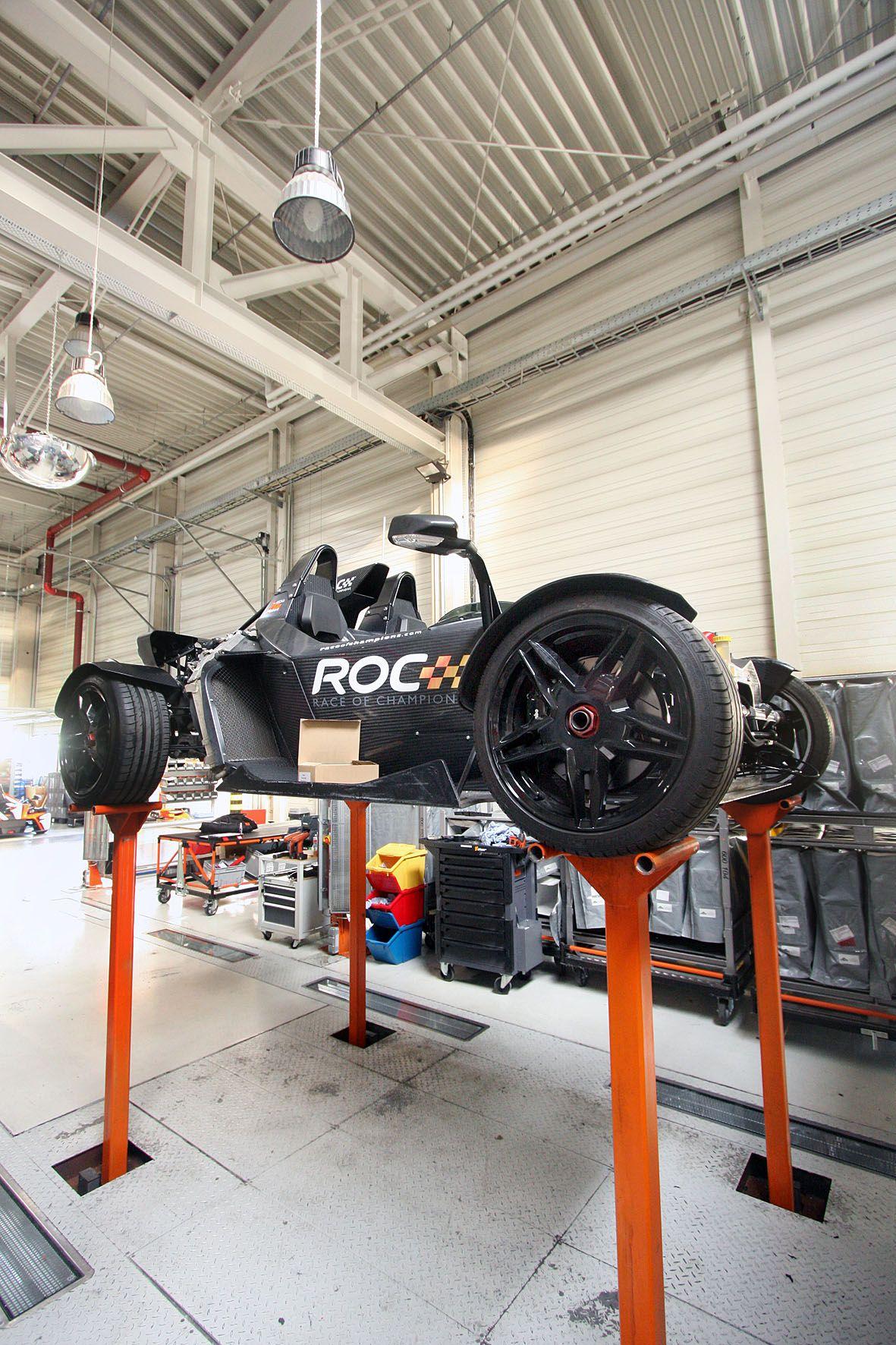 KTM X-Bow protagonista della Race of Champions
