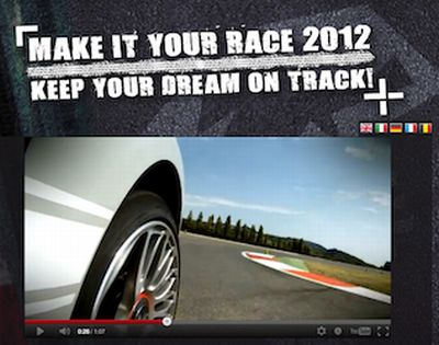 Make it Your Race 2012: Abarth lancia il primo Talent Show televisivo per aspiranti piloti