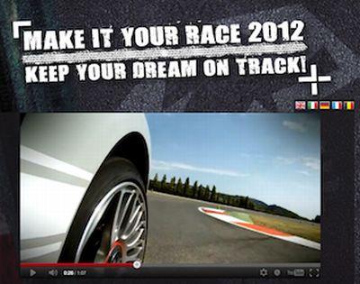 Make it Your Race 2012: Abarth lancia il primo Talent Show televisivo per aspiranti piloti