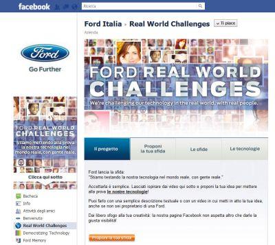 Ford Real World Challenges: parte la sfida del pubblico alla tecnologia Ford