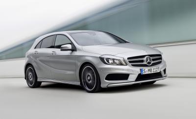 Nuova Mercedes Classe A: intervento a gamba tesa nel segmento B!