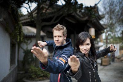 Sebastian Vettel e Celina Jade protagonisti di Kung Fu Vettel: Drive of the Dragon