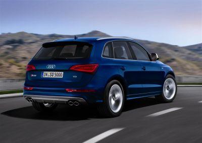 Audi SQ5 TDI con motore Diesel V6 biturbo 313 CV: da 0 a 100 km/h in 5,1 secondi