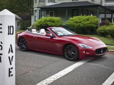 Maserati GranCabrio Sport: shooting fotografico sulle strade di Bruce Springsteen