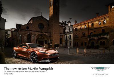 La nuova Aston Martin Vanquish: tutte le immagini ufficiali