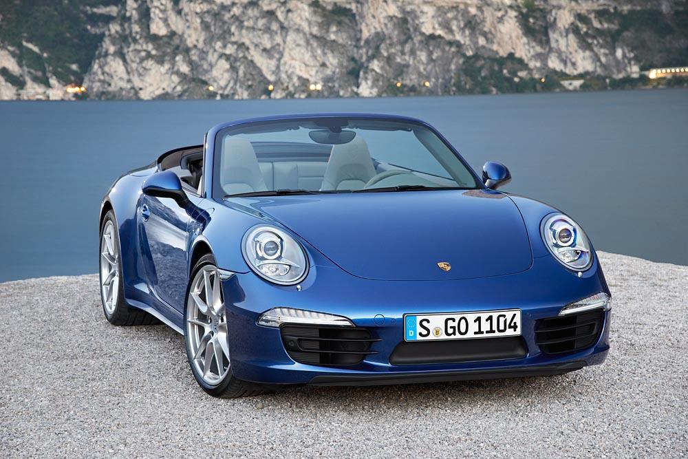 Nuova Porsche 911 Carrera 4 e 911 Carrera 4S