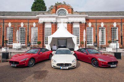 Maserati protagonista a Kensington Palace