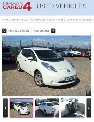 Nissan Cared4 Usato Garantito Per Il Mercato Uk