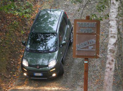 Motor Show Bologna 2012: un percorso ad ostacoli dedicato alla Panda 4×4