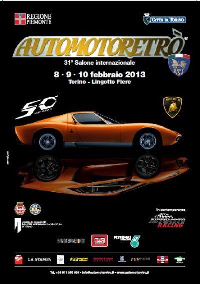 Automotoretrò 2013: protagonista Lamborghini ed i suoi 50 anni di storia