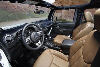 Jeep Wrangler Unlimited My13 Tutte Le Immagini Ufficiali