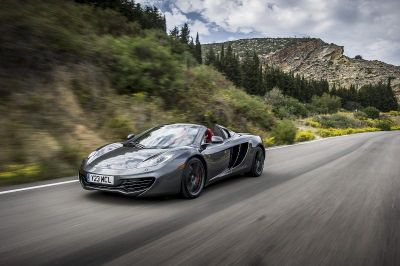 McLaren 12C Spider: anteprima nazionale al Motor Show di Bologna 2012