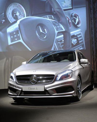 Nuova Mercedes-Benz Classe A: con gli pneumatici invernali Michelin massima sicurezza in condizioni estreme