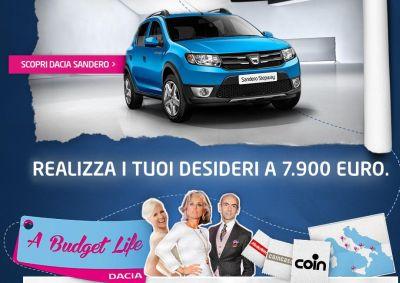A Budget Life: Dacia Sandero realizza anche i desideri più speciali