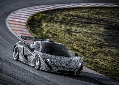McLaren P1: ultimi test in attesa di Ginevra 2013