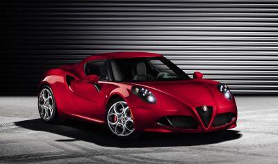 Alfa Romeo 4C: supercar compatta con trazione posteriore e motore in posizione centrale