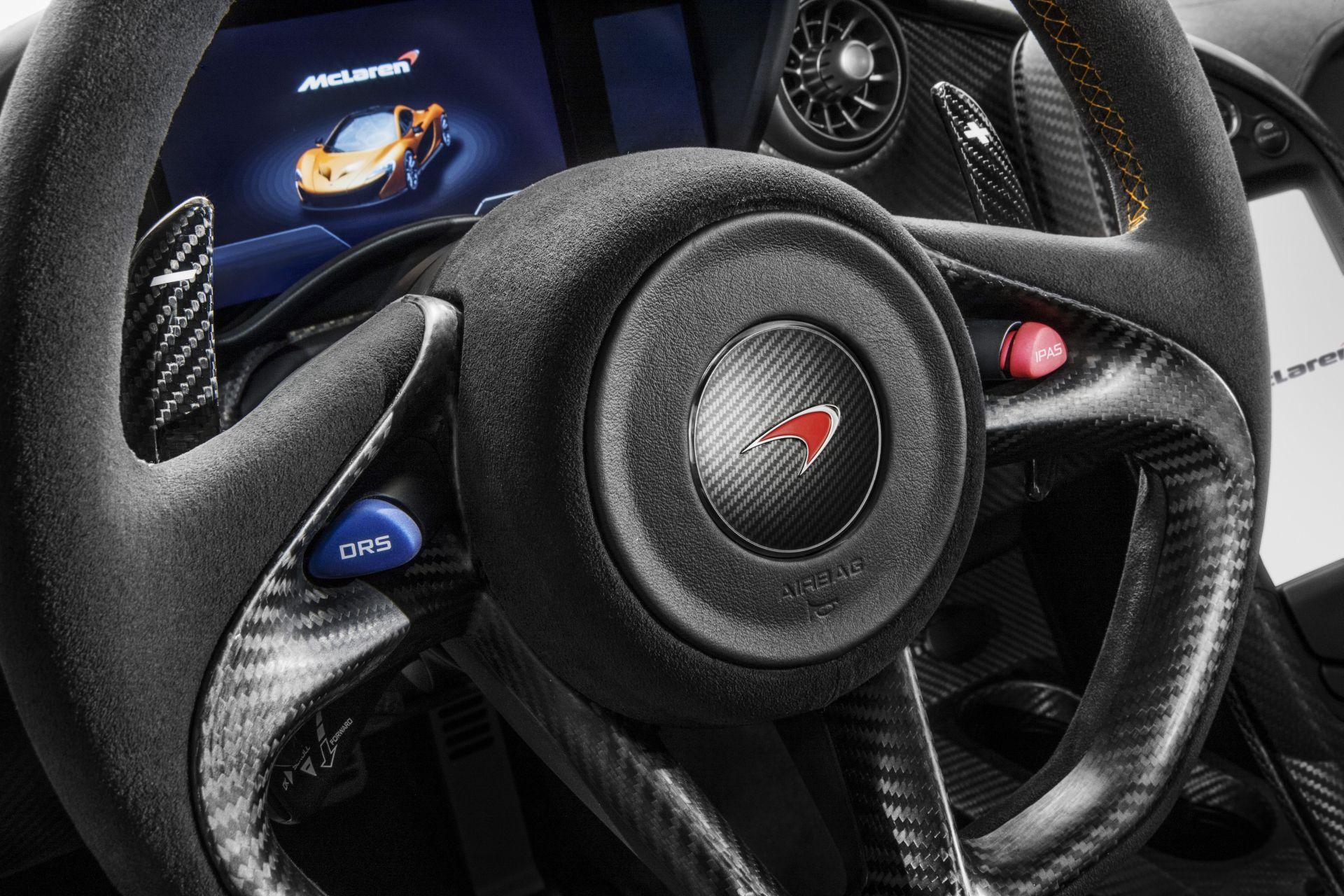 McLaren P1: 903 CV e 900 Nm, con emissioni inferiori a 200 g/km