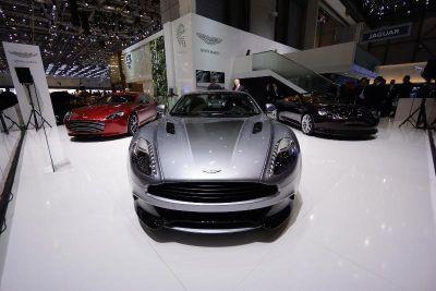 Aston Martin: Rapide S e Vanquish Centenary Edition protagoniste di Ginevra 2013