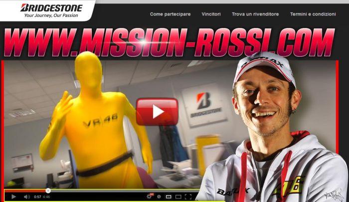 Vivere il MotoGP e conoscere Valentino Rossi grazie a Bridgestone