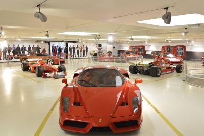 Ferrari supercar. Tecnica. Design. Mito: inaugurata la mostra al Museo Ferrari di Maranello