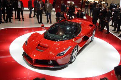 LaFerrari: immagini live da Ginevra e caratteristiche dell'ultimo capolavoro Ferrari