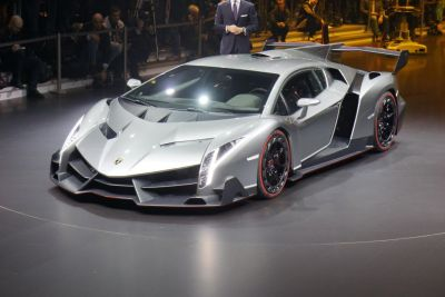 Lamborghini Veneno: le immagini live dal Salone di Ginevra 2013