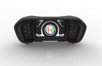 Alfa Romeo 4C: tutti i segreti del quadro strumenti digitale