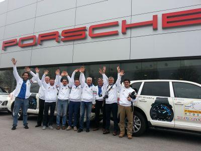 Artic Route Adventure: la passione per la Porsche porta lontano