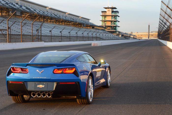 La Chevrolet Corvette Stingray 2014 Pace Car della Indy 500