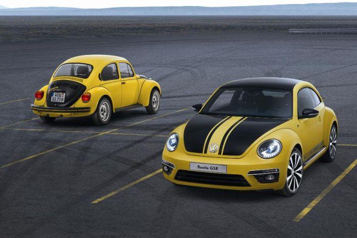 Volkswagen Beetle GSR: in UK con prezzi da £ 24.900