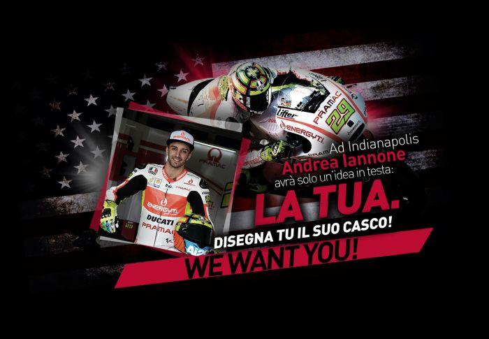 MotoGP di Indianapolis: AGV e Andrea Iannone premiano la creatività