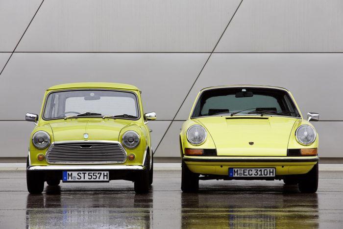 Auguri Porsche 911... firmato MINI