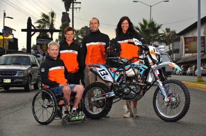 Baja 500: Nicola Dutto al traguardo
