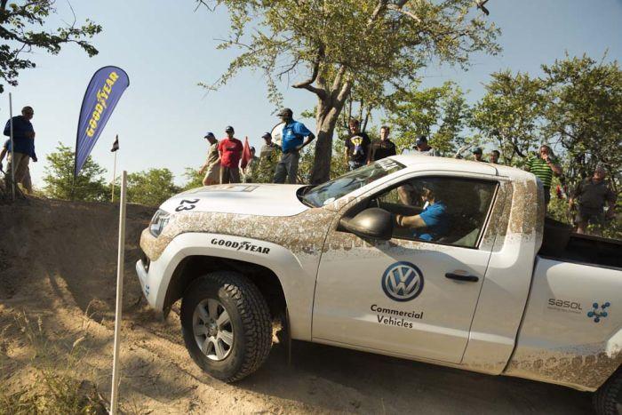 I pneumatici 4x4 Goodyear Wrangler AT SA  protagonisti dello Spirit of Africa 2013