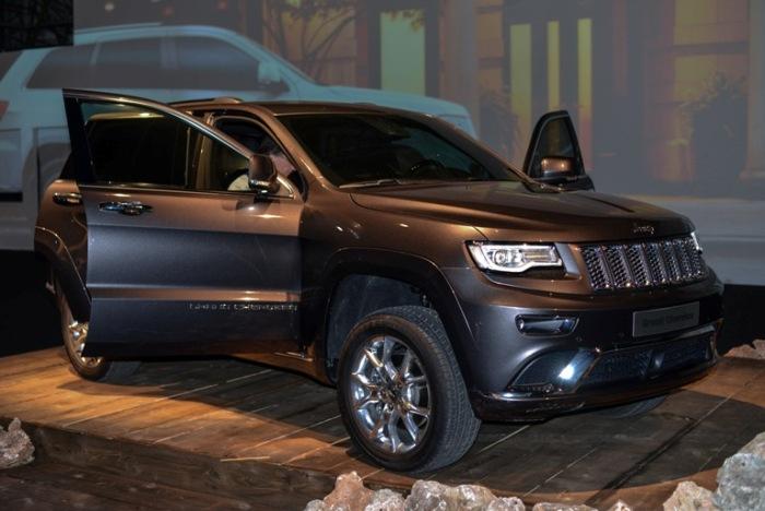 Jeep Grand Cherokee 2014 anteprima a Milano