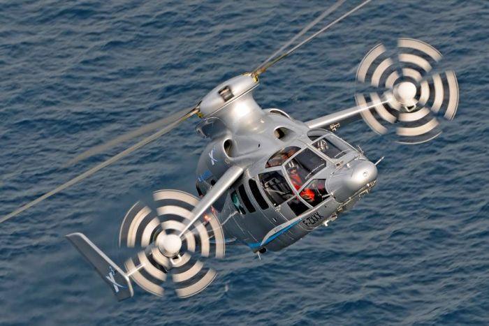 L'elicottero ibrido X3 di Eurocopter segna una nuova pietra miliare nella storia dell'aviazione