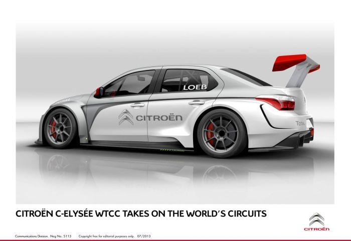 Citroën C-Elysée WTCC takes on the world's circuits