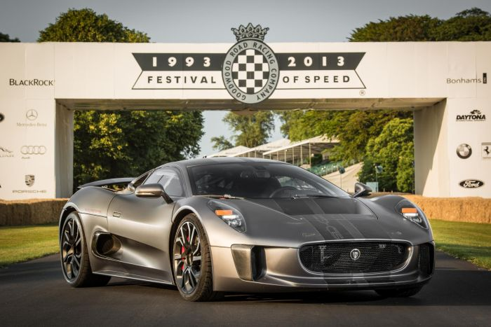 Jaguar C-X75 Goodwood 2013