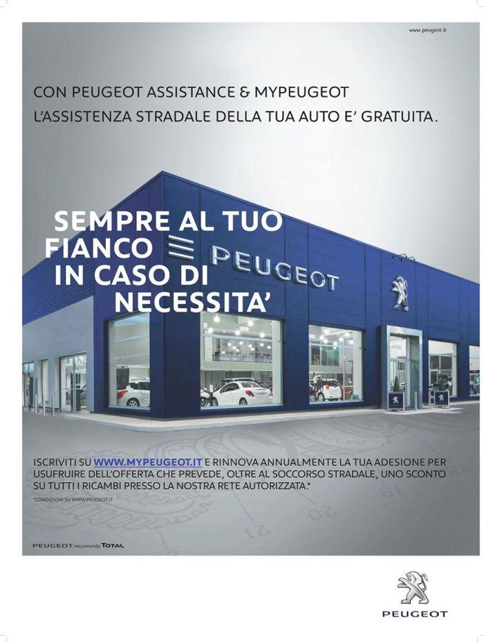 """""""Sempre al tuo fianco con Peugeot Assistance"""""""