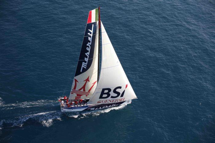 Soldini e John Elkann da Los Angeles a Honolulu a bordo di VOR 70 Maserati